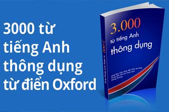 3000 TỪ VỰNG OXFORD THÔNG DỤNG